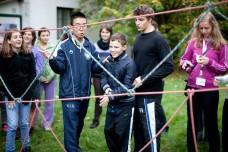 Wir fördern eine Form von Zusammenarbeit, bei der alle gewinnen, im Garten der WWF Bildungswerkstätte Seewinkelhof ((c) Lukas Ilgner - www.lukasilgner.at)